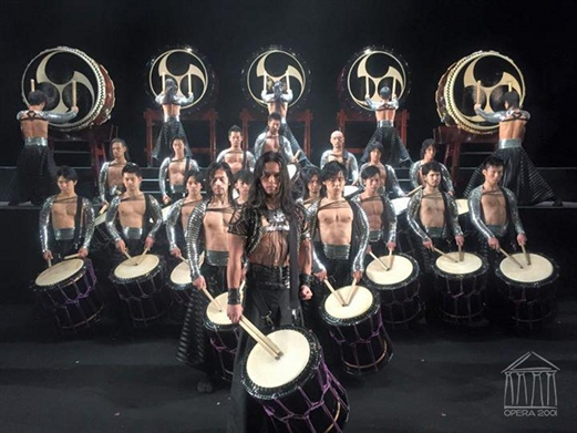 'TAO, the samurái of the drum', un magnífico espectáculo de percusión